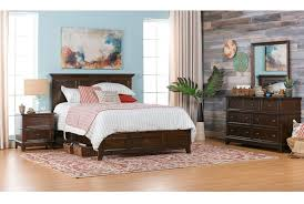 White King Panel Bedroom Suite Dalton Eastern King Panel Bed Living Spaces