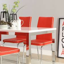 retro dining room dining chairs cozy modern retro dining table and chairs vintage