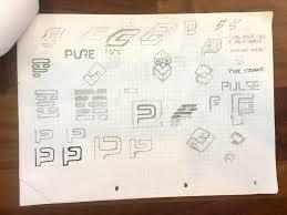 design a logo process pure storage logo design sketches ideas the logo design process