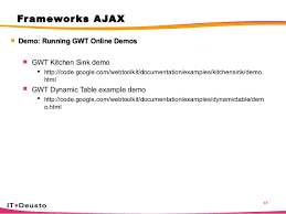 Curso Ajax - Gwt kitchen sink
