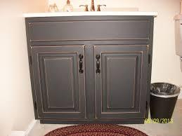 Paint Bathroom Cabinets Diy Bathroom Cabinet Painting Ideas
