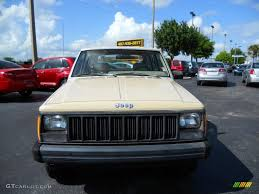 beige jeep cherokee 1989 sand beige jeep cherokee 28528095 photo 2 gtcarlot com