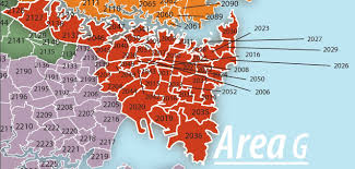 Sydney Map Map Of Area G U2014 Area G Aa Sydney Australia