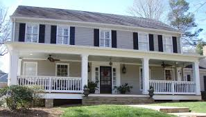 front porches on colonial homes home exterior makeovers front porch ideas