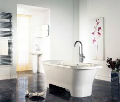 small bathroom designs with brown ceramic tile floor and