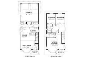 narrow homes floor plans charming ideas narrow house plans home ideas corner lot house