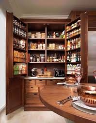 large kitchen pantry cabinet with larder cupboard free standing
