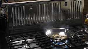 Gas Cooktop With Downdraft Vent Kitchen Ventilation U2013 Range Hoods U0026 Vents Kitchenaid