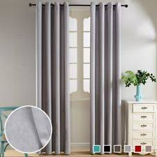 Velvet Blackout Thermal Curtains Velvet Solid Curtains Drapes U0026 Valances With Blackout Ebay