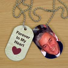 in loving memory dog tags personalized memorial photo dog tags dog free and photos