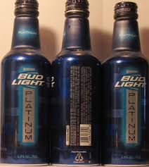 bud light platinum price aluminum beer bottles
