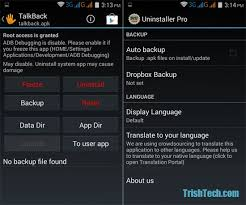 root uninstaller pro apk remove preinstalled apps in android with root uninstaller