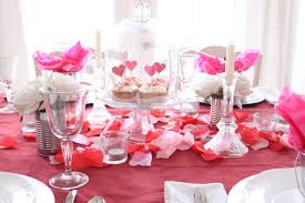 decorations lovely valentine centerpiece with artificial flower