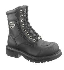 s harley boots canada harley davidson s sydney motorcycle boot black d87005
