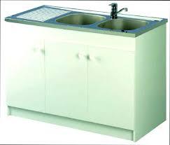 evier cuisine 80 cm meuble avec evier cuisine meuble sous evier bas 120 3 portes