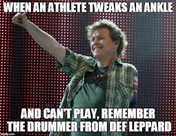 Drummer Meme - def leppard drummer imgflip