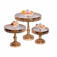 gold cake stands gold cake stand elysian living designs