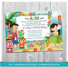 luau birthday party luau party invitation printable birthday hawaiian luau luau