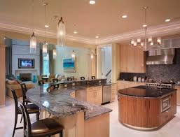 how to design kitchen island beautiful kitchen island design with brown cabinet popular designs