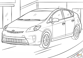 toyota supra drawing toyota prius coloring page free printable coloring pages