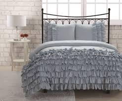 Ruffled Bed Set Miley Mini Ruffle Comforter Set Blue College Pinterest