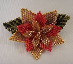 Ruby Red Long Brick Stitch 379 Best Beads Holidays Images On Pinterest Beading Patterns