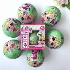 Lol Blind 6pcs Lol Surprise Doll 7 Layers Removable Egg Ball Surprise Ball