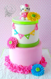 hello kitty rainbow cake inside decorated cake ideas pinterest