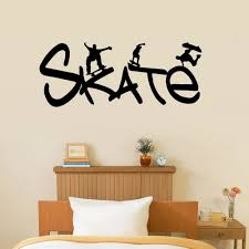 wall stickers sports room color the walls of your house wall stickers sports room vinyl wall decal removable kids boys room decal skateboarding sport