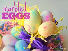 foam easter eggs marbled foam easter eggs one time through