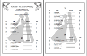 wedding registration list a journey of our guest registration list