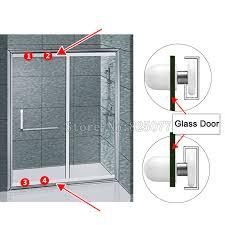 Replacement Shower Door Wheels 8pcs Replacement Shower Cabin Door Rollers Runners Wheels Pulleys