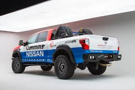 white nissan truck 2016 nissan titan xd diesel u2013 built for sema