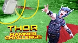 et télécharger thor ragnarok movie gear test hammer toss