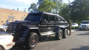 mercedes benz 6x6 brabus mercedes benz 6x6 in birmingham michigan spotted