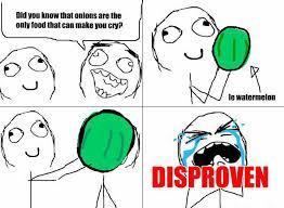 Cry Meme - watermelon can make you cry meme