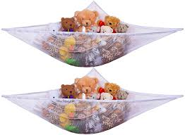 Nursery Organizers Amazon Com Jumbo Toy Hammock 2pack Organize Stuffed Animals Or
