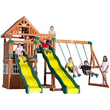 Amazon Backyard Playsets by Amazon Com Backyard Discovery Journey All Cedar Wood Playset