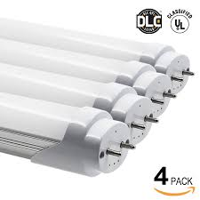 Led Light Bulbs To Replace Fluorescent by 18w 4ft Ul U0026 Dlc Listed T8 Led Tube Ac 90v 120v Torchstar