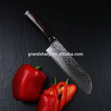 santoku damascus knife 8