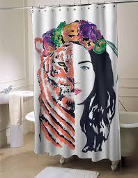 Shower Curtain Custom Katy Perry Roar Shower Curtain Myshowercurtains