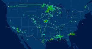 Jet Blue Route Map Boeing Dreamliner Jet Flight Draws Usa Sized Self Portrait Cnet