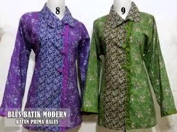 gambar model baju batik modern batik huza terpopuler saat ini youtube