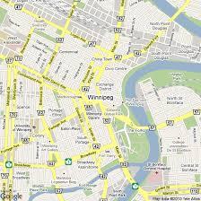 winnipeg map map of winnipeg canada hotels accommodation