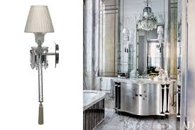 crystal sconces for bathroom interior wonderful images of bathroom lighting sconces bathroom