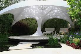 Garden Shade Ideas Beautiful Textile Shade Structure That Beautify Your Garden Home