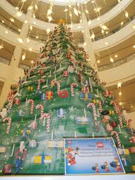 unschooling homeschool tallest lego christmas tree in asia 21