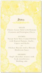 wedding menu templates for free to have u0026 to hold pinterest