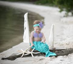 Mermaid Halloween Costume Toddler Mermaid Photo Prop Mermaid Costume Baby Mermaid