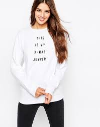 this is my sweater asos asos sweatshirt with this is my x jumper print